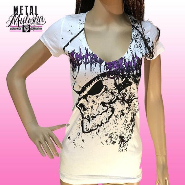 Metal Mulisha Ladies Transgress Tee Size S