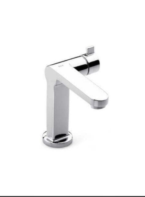 Brushed Nickel Progressive Cartridge Wall Mixer Taps for BATH SHOWER BASIN