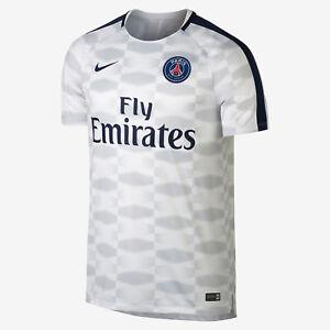 3d91e7559 Nike Paris Saint-Germain Dry Squad Men's Soccer Top 854579 101 Size ...