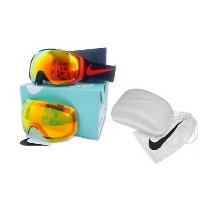 NEW Dragon Nike SB Khyber Red Mirror Mens Ski Snowboard Goggles + lens Msrp$300