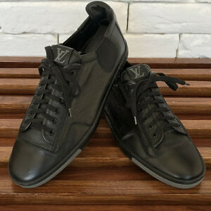 8416b552c68b Authentic Louis Vuitton shoes mens size EU 8 fits 9 US or 42 black ...
