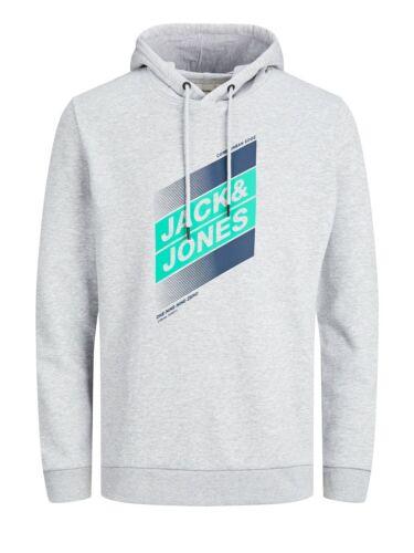 Jack /& Jones Hommes Hoodie Capuche jcodefender S M L XL XXL Coton