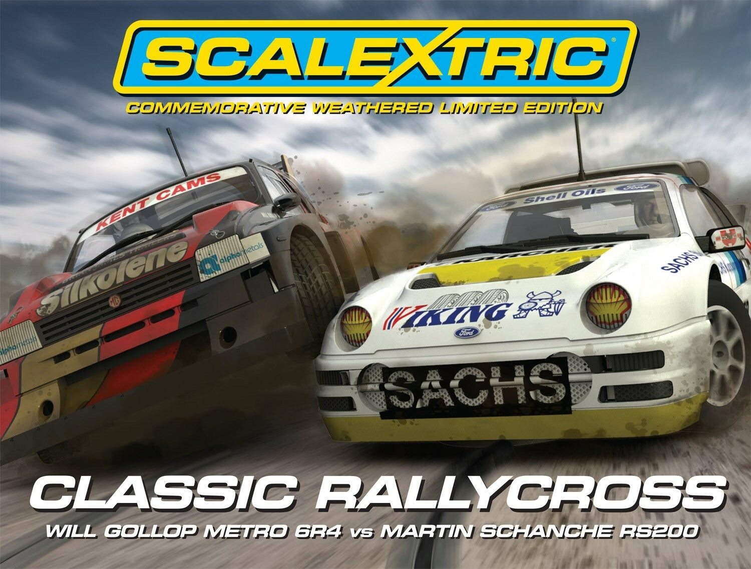 Scalextric C3267A Classic Rallycross Champions Limited Edition