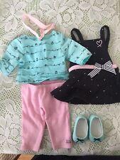 American Girl Grace/'s Baking Outfit GOTY 2015 NIB Dot Apron Cupcake Tee LE