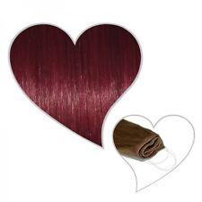 Easy Flip Extensions in weinrot#35 30 cm 70 Gramm 100% Echthaar Your Hair Secret