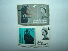 1965 Joseph Lister Phosphor Set completo MH (sg667p-8p) CV £ 2.25
