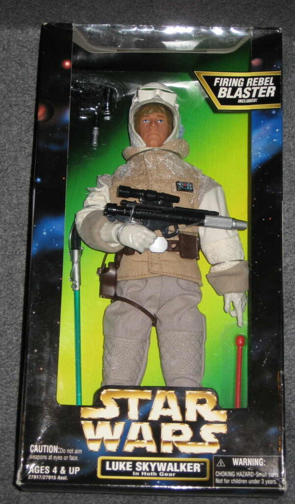 Star Wars Action Collection 12  Figure NIB Luke Skywalker Hoth