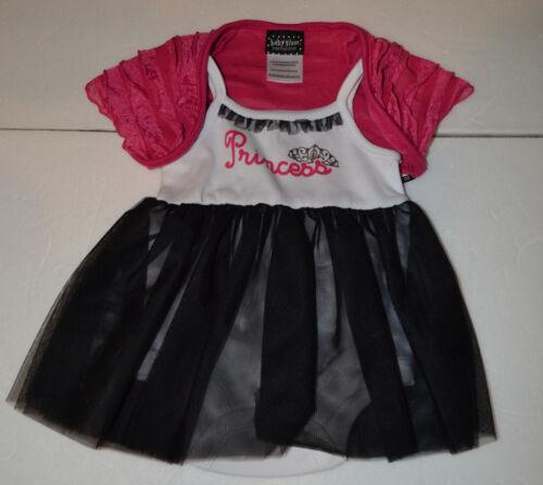 Baby Glam Girls Infant Dress Jacket Size NB or 3-6M  NWT Princess /&  Jacket