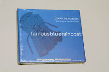 Jennifer Warnes Famous Blue Raincoat - 20th Anniversary CISCO Gold CD - Sealed