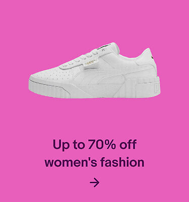 Up to 70% women's fashion