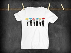 c5071367 Image is loading Friends-Tv-Show-Inspired-Umbrella-Group-T-Shirt