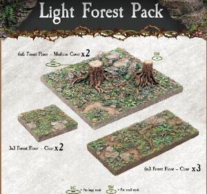 Dwarven-Forge-Caverns-Deep-Dreadhollow-Light-Forest-Pack-D-amp-D-Tiles-NEW