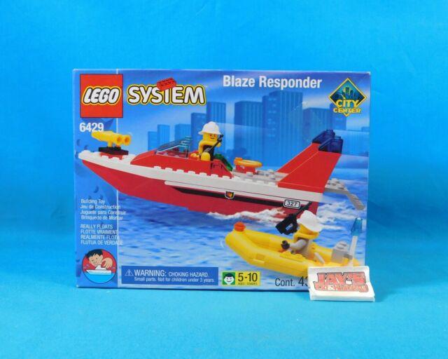 1999 Town City Fire Boat Lego System BLAZE RESPONDER Set 6429