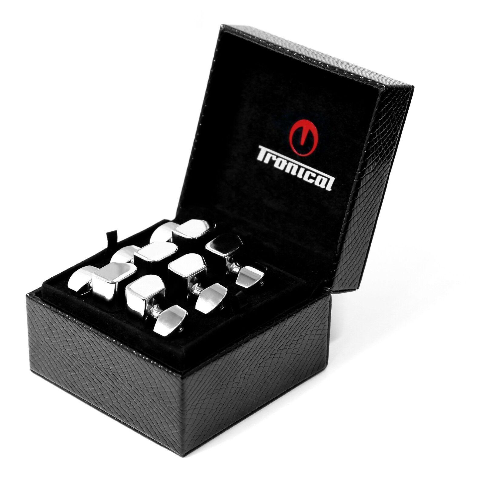 Tronical Robohead Set Chrome Strat 3+3 New in Box