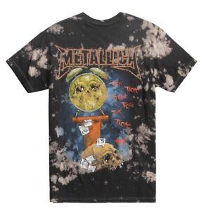 METALLICA-TICK-TOCK-T-SHIRT-TIE-DYE-MENS-METAL-ROCK-MUSIC-TEE-BRAVADO-NWT