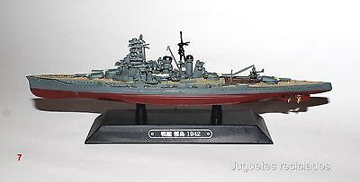 Kirishima BARCO DE METAL 20-25 CMS Japanese WWII Battleship boat