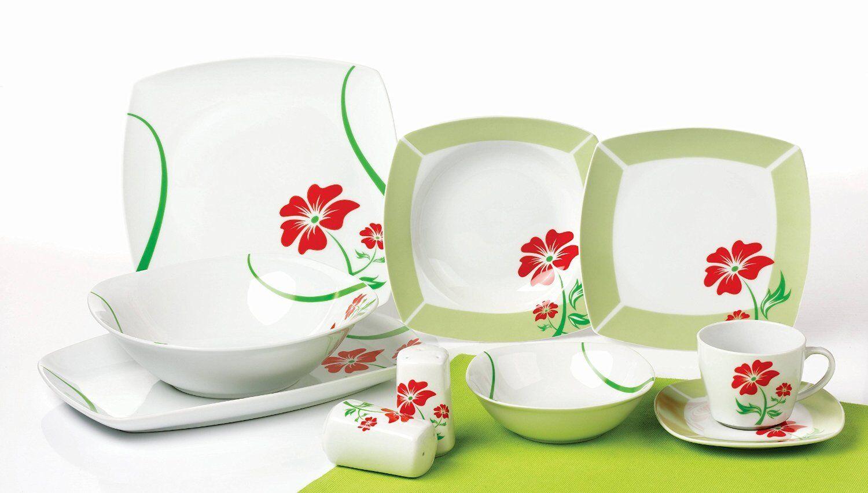 Porcelaine de Table Service essservice Kombi service 40tlg Angela tk-982