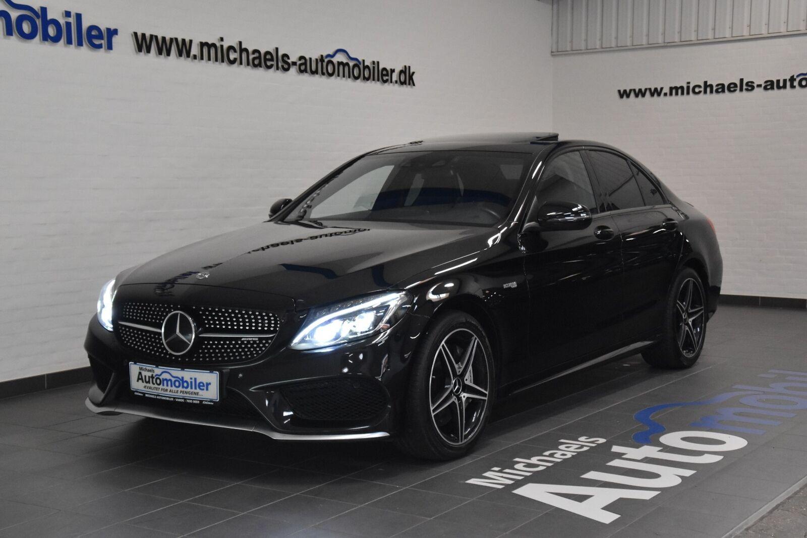 Mercedes C43 3,0 AMG aut. 4-M 4d - 3.791 kr.