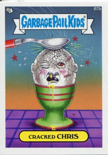 Garbage Pail Kids Mini Cards 2013 Base Card 67b Cracked CHRIS