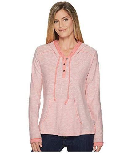 Nwt Xl 190893229869 bottoni con taglia Columbia donna frontale Tie da New Pink sportiva Blush Felpa Y6xOC5qw