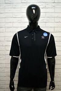 Polo-Nera-NIKE-Maglia-Camicia-Uomo-Taglia-44-Shirt-Men-039-s-Chemise-homme