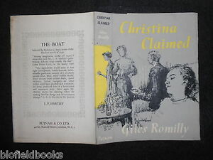 ORIGINAL-LYNTON-LAMB-VINTAGE-DUSTJACKET-for-Christina-Claimed-by-Giles-Romily