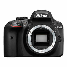 Nikon D3400 24.2 MP DX-Format CMOS Digital SLR Camera Body Black - USA Model