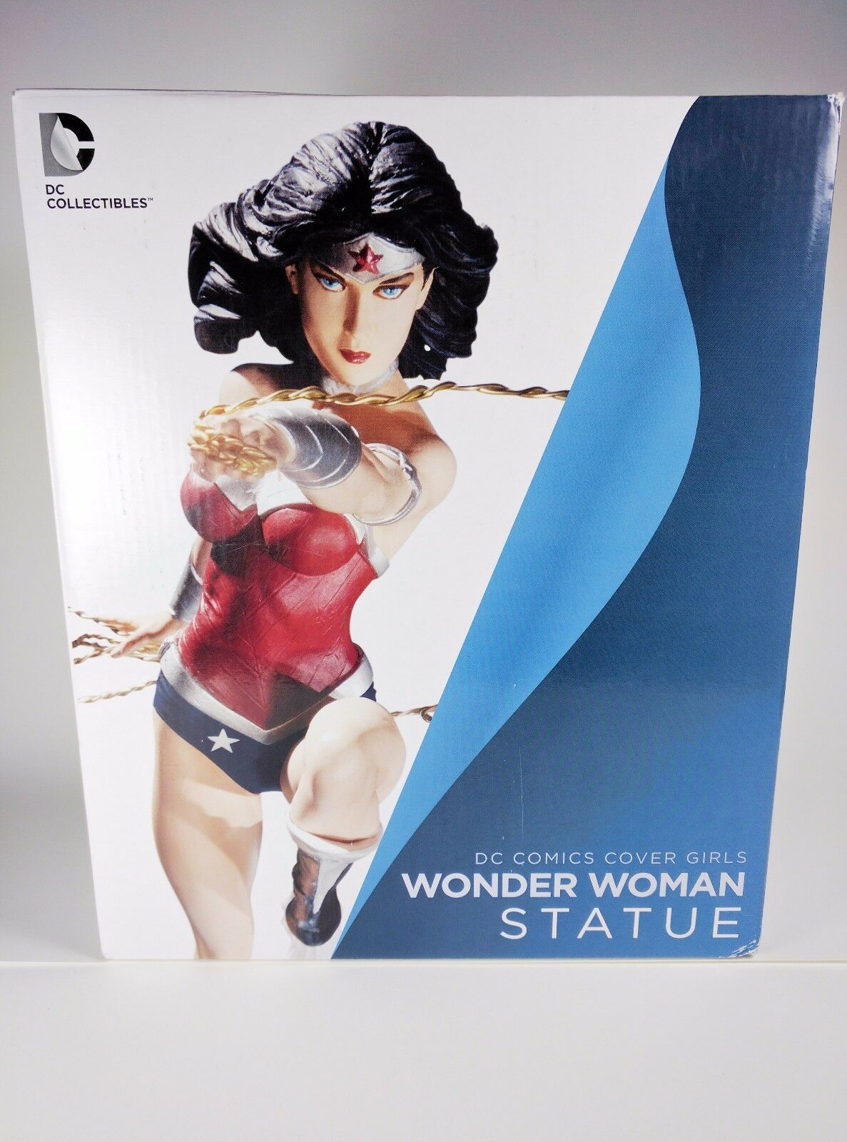 Cover 2 Girls Wonder Woman Version 2 Cover New 52 Statue Figure DC Direct Collectibles 567e5f