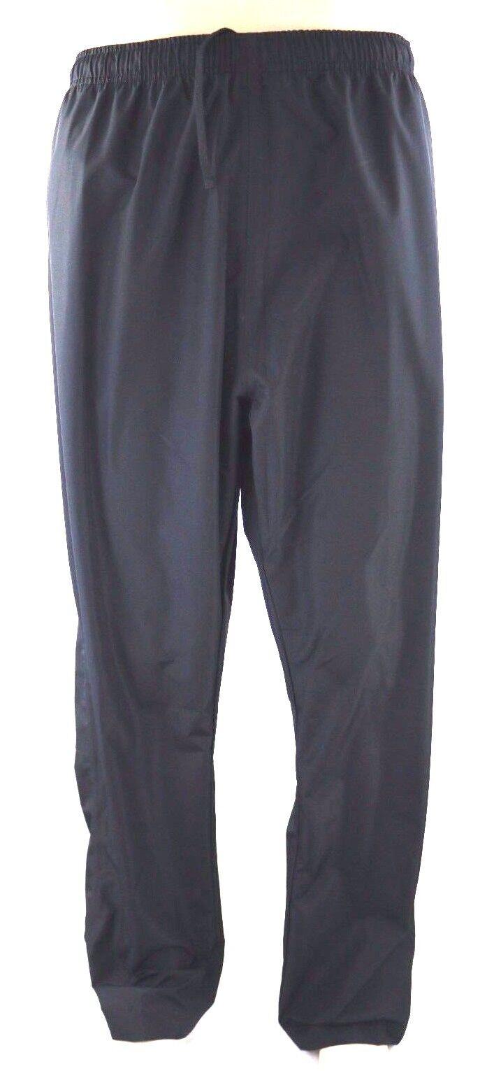 NEW asics Reflective Waterproof Breathable Men's Active Windbreaker Pants Sz 3XL