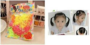 New-100PCS-Girl-amp-Kids-Disposable-Rubber-Hair-Ropes-For-Braids-Colorful-Hair-Bands