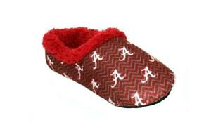 Happy-Feet-Mens-and-Womens-OFFICIALLY-LICENSED-NCAA-College-Chevron-Slip-On