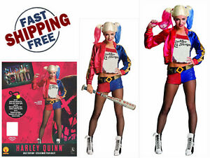 764058d7d08757 Rubie S Adult Harley Quinn Suicide Squad Cosplay Costume Kit For ...
