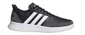 Détails sur Adidas Core Homme Loisir Et Chaussures de Fitness COURT80S Noir