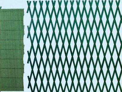 TRALICCIO PVC VERDE ESTENSIBILE CM.200X100 piante rampicanti