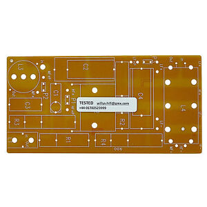 speaker crossover circuit board pcb new excellent value. Black Bedroom Furniture Sets. Home Design Ideas