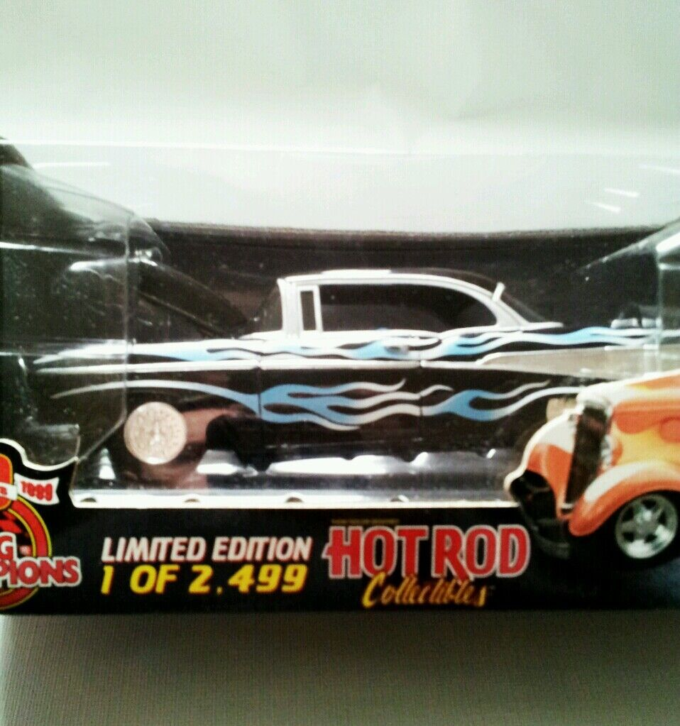 57'Chevy Hardtop 1of 2,499 2,499 2,499 Hot Rod Collectibles Limited Eddition scale1 24 e3e1df