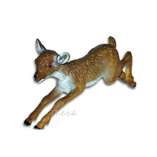 FREE SHIPPING | AAA 52009 Deer Fawn Leeping Wild Baby Figurine - New in Package