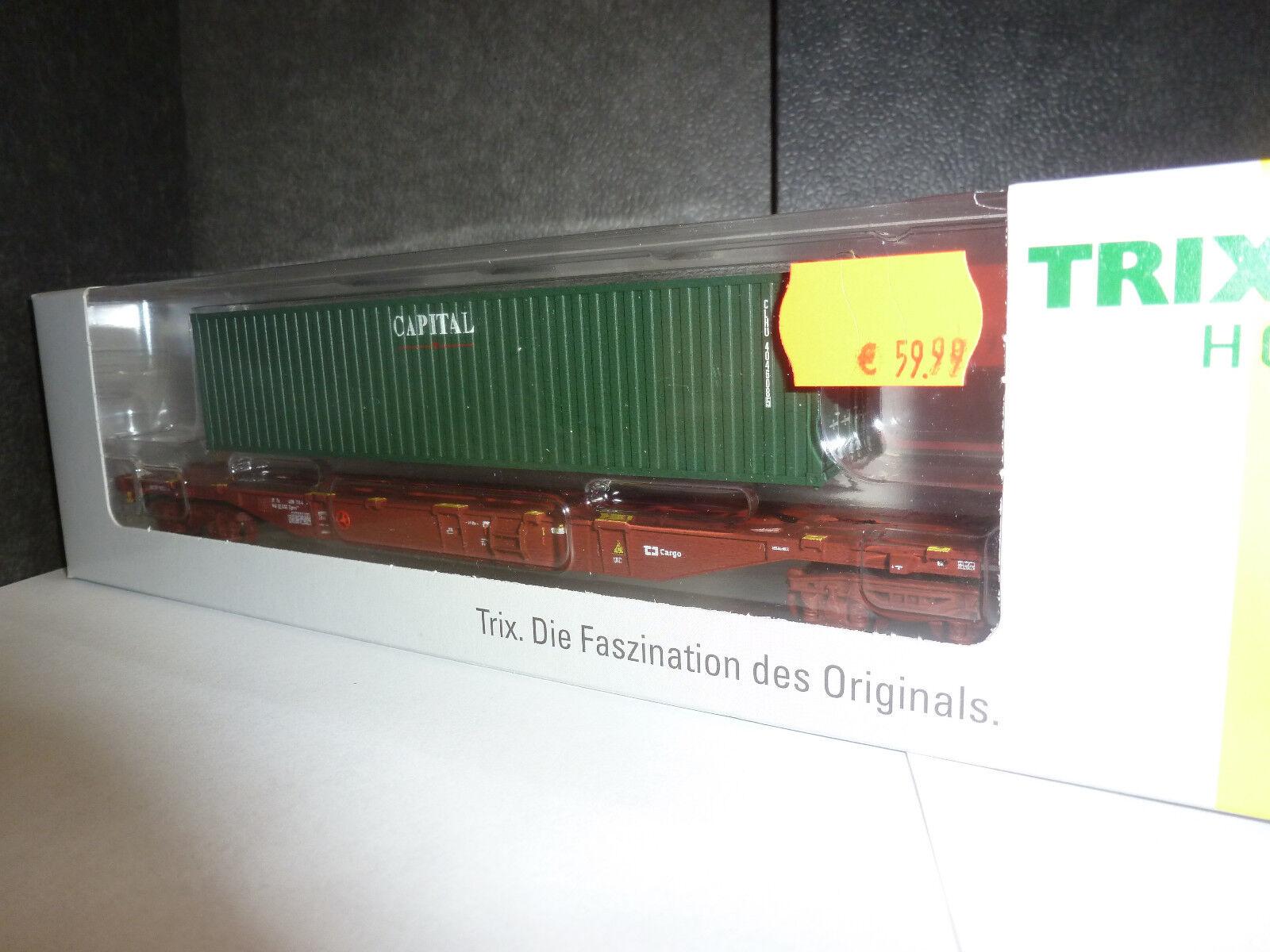 echa un vistazo a los más baratos Trix Trix Trix 24132 contenedor-Cochero de armazón tipo aprobado sgnss 539.8  punto de venta barato