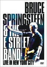 Bruce Springsteen  the E Street Band - Live in New York City (DVD, 2001, 2-Disc Set)