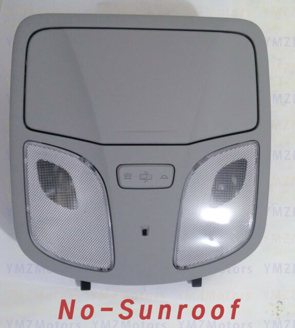 [ No-Sunroof ] Hyundai Sonata  2011-2014 OVERHEAD CONSOLE LIGHT ,92800-3S001TX