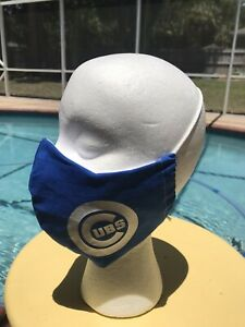 Women S Chicago Cubs Fabric Face Mask With Filter Pocket Ebay
