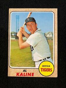 Details About Al Kaline Detroit Tigers Hall Of Famer 1968 Topps 240 Baseball Card
