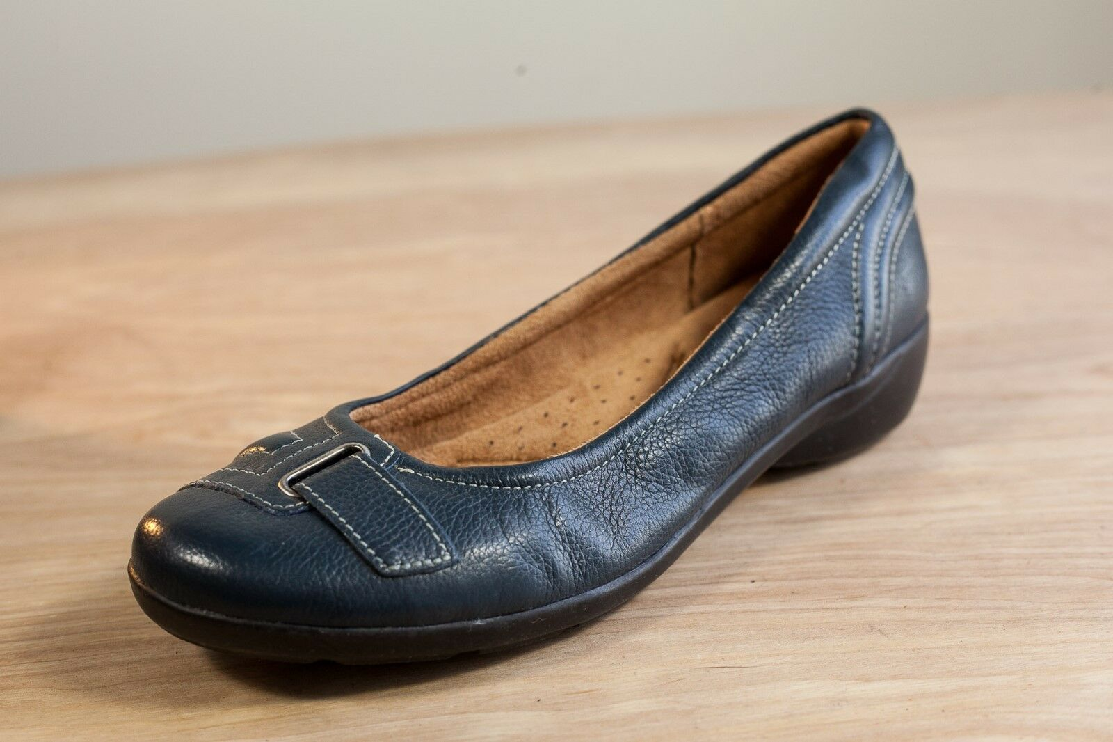 Naturalizer 7.5 bluee Slip On Womens shoes  Neville