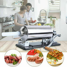 Sausage Stuffer Meat Press Filler Stainless Steel Maker 4 Tubes