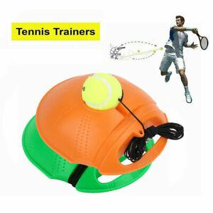 Tennis Training Tool Tennisball Selbststudium Rebound Ball Tennistrainer DE Neu