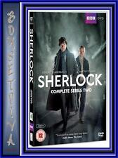 SHERLOCK - COMPLETE BBC SERIES 2 *BRAND NEW DVD BOXSET*