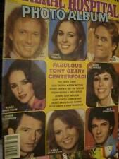General Hospital 1981 Photo Album Magazine #1-20 Color Pinups