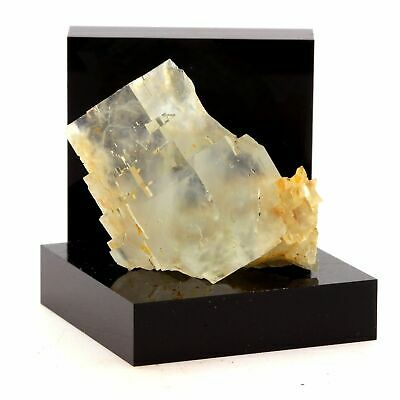 Rare Packing Of Nominated Brand Langeac Quartz 128.5 Ct Haute-loire Fluorite France