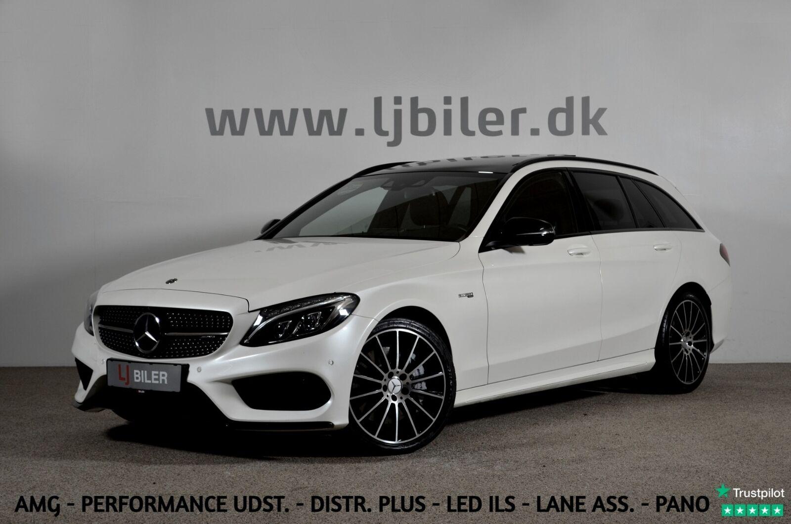 Mercedes C43 3,0 AMG stc. aut. 4-M 5d - 699.800 kr.