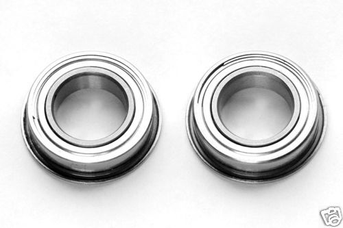 ROULEMENT A BILLES 8X14X4 MF 148 ZZ EPAULES (50pcs) BEARING FLANGED RC MODELISME